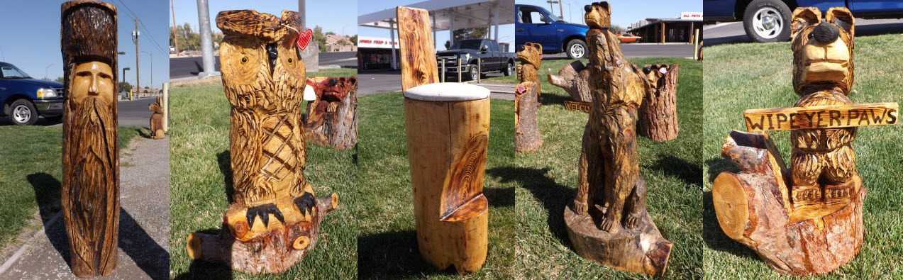 Carve me a bear chainsaw carvings hand made